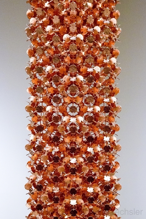 #Geometric #Sculptures Made From #Thousands of #Coins #art  #sculpture | Luby Art | Scoop.it