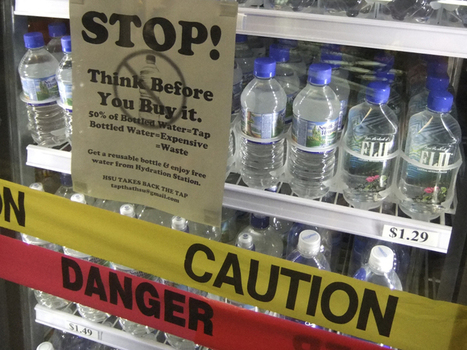 Battling The Bottle: Students And Industry Face Off Over Water : NPR | Local Economy in Action | Scoop.it