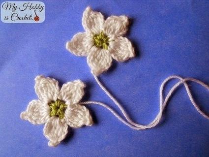 My Hobby Is Crochet: Crochet Blackberry Flower - Free Pattern | CrochetHappy | Scoop.it