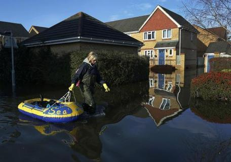 Britain's economy could take a brief hit from floods across England - Reuters UK   Unit 2   Scoop.it