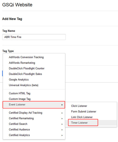 How to Implement Adjusted Bounce Rate (ABR) via Google Tag Manager [Tutorial] | Search Engine Watch | Sales Drive | Scoop.it