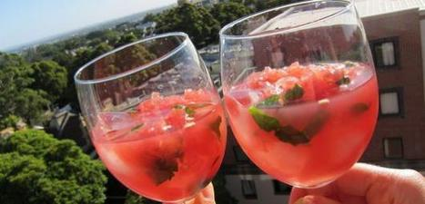 Seasonal recipes: 5 watermelon cocktails | @FoodMeditations Time | Scoop.it