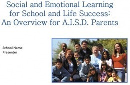 PowerPoint to Present to Parents on Social/Emotional Learning | The 21st Century | Scoop.it