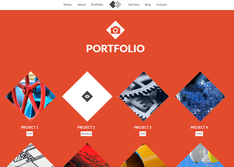 Atolo - Free Responsive Single Page Template   Web Design and Wordpress   Scoop.it