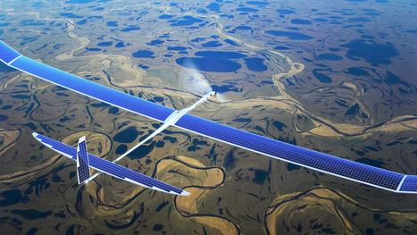 Google: achat de Titan Aerospace (drones solaires), future alternative au Wifi? | Nouvelles technologies - SEO - Réseaux sociaux | Scoop.it