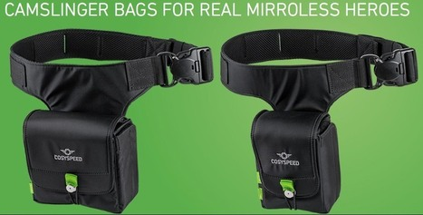 Bags for your X (part V): Camslinger for mirrorless heroes and more! - Fuji Rumors | Fuji X-Series | Scoop.it