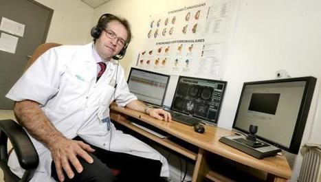 Traiter l'AVC à distance : à Maubeuge, on a imaginé la médecine de demain - La Voix du Nord | On innove à l'hôpital | Scoop.it