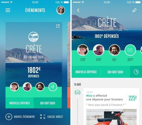 Les bons comptes entre amis : app gratuite iPhone | CDI doctic | Scoop.it