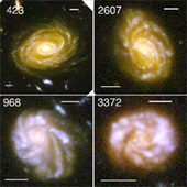 When Did Galaxies Get Their Spirals? Approximately 3.7 Billion Years After the Big Bang | Digital-News on Scoop.it today | Scoop.it