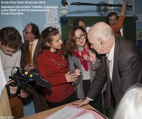 Ecole Plus Paris : la tablette numérique au service du handicap - La presse en parle tsa-quotidien.fr | droit et scolarisation | Scoop.it
