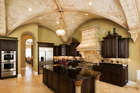 Greek-Inspired Luxurious Kitchen Design | Simple Decorating Ideas For Home | Scoop.it