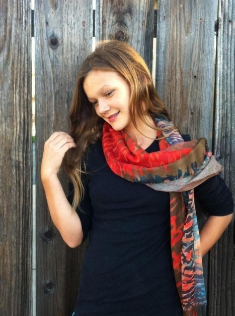The Grateful Girls Introduce A New Scarf | Best of the Los Angeles Fashion | Scoop.it