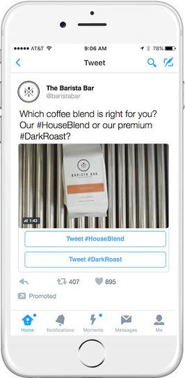 Twitter lance la publicité conversationnelle avec les Conversational Ads   Veille : Référencement Payant SEA   Scoop.it
