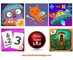 FREE Friday Kids Apps with Over 30 Apps for Education, Reading and Games! Nov. 20 - Fun Educational Apps for Kids | Best Apps for Kids | Scoop.it