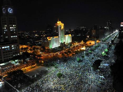 A Samba revolution? Brazil's leadership in crisis as one million take to streets   urban junk   Scoop.it