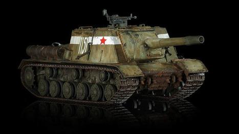 1/35 WW2 Russian JSU-152 Tank Killer by Tamiya | Military Miniatures H.Q. | Scoop.it