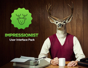 Impressionist User Interface Pack | webdesign | Scoop.it