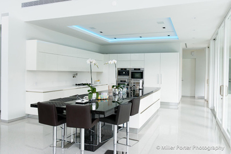 A minimalistic kitchen designed for entertaining and family time | BKDA  Continuing Professional Development Archive | Scoop.it