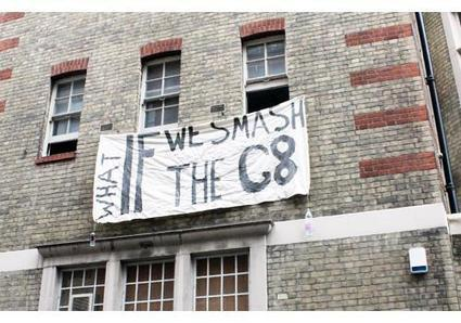 Ahead of G8 summit protests, anti-capitalism activists occupy former police station in Soho | West End Extra | Pensamientos Alternados | Scoop.it