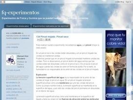 Experimentos de Física y Química con elementos corrientes ~ Docente 2punto0 | webs recomendadas | Scoop.it