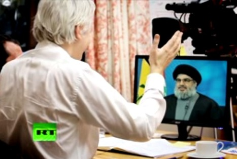 Assange cause avec le chef du Hezbollah | Occupy Belgium | Scoop.it