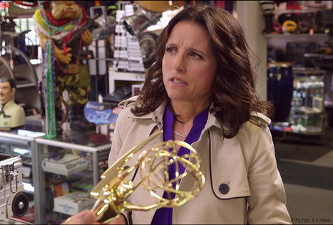 "Julia Louis-Dreyfus Tries To Pawn Her Emmy to Bryan Cranston and Aaron Paul | ""FOLLIEWOOD"" 
