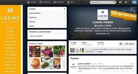 Hôtellerie : Twitter devient un canal de distribution | Hôtellerie, luxe & médias sociaux | Scoop.it