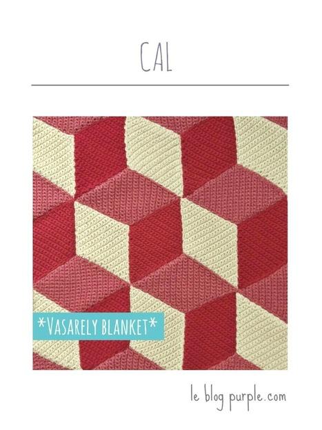 Crochet Along: Un plaid à la manière de Vasarely!   Ma voie   Scoop.it