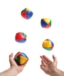 Organizing Marketing: 4 Tips for the Marketing Juggler | B2B Marketing and PR | Scoop.it