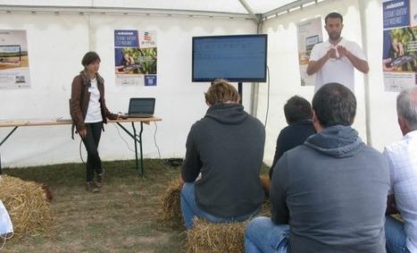 Des agriculteurs bien ancrés dans le XXIe siècle | Agriculture Aquitaine | Scoop.it