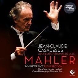 CD, compte rendu critique. Mahler : Symphonie n°2 (Jean-Claude Casadesus, Orchestre national de Lille, novembre 2015, 1 cd évidence classics) | Classique News | orchestre national de lille - Jean-Claude Casadesus | Scoop.it
