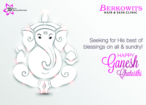 Wishing one and all a very happy #GaneshChaturthi today!  | Berkowits Hair & Skin Clinic | Scoop.it