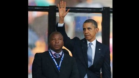 Sign language interpreter who stood next to Obama at Mandela memorial called a 'fake' | access control systems | Scoop.it