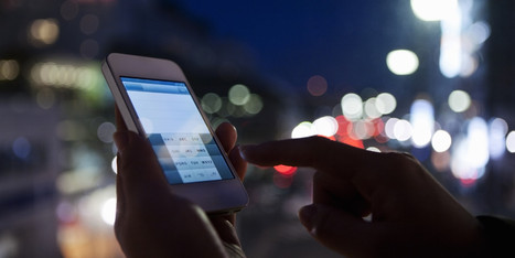Why You Should Put The Smartphone Down At Night | It's Show Prep for Radio | Scoop.it
