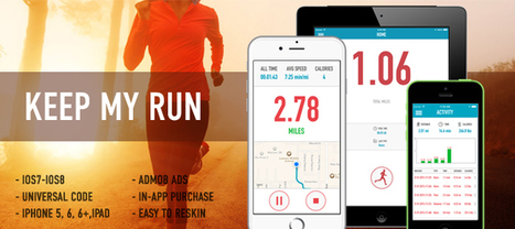 Buy KeepMyRun - GPS Running, Walk and Calories Tracker Full Applications For iOS | Chupamobile.com | ios source code | Scoop.it