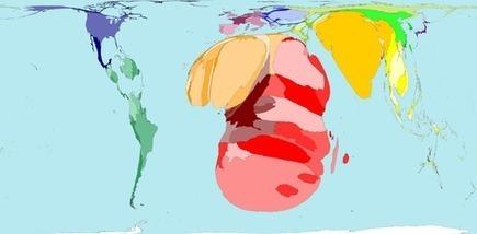 Worldmapper: The world as you've never seen it before | Theme 4: People & Development | Scoop.it