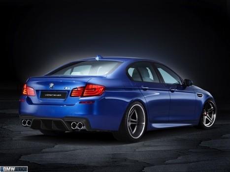 Vorsteiner for 2013 BMW M5 Sedan - BMW BLOG   Bimmer   Scoop.it