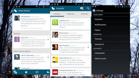 Tweedle Makes Twitter Simple, Stable and Beautiful for Free | Educational Use of Social Media | Scoop.it