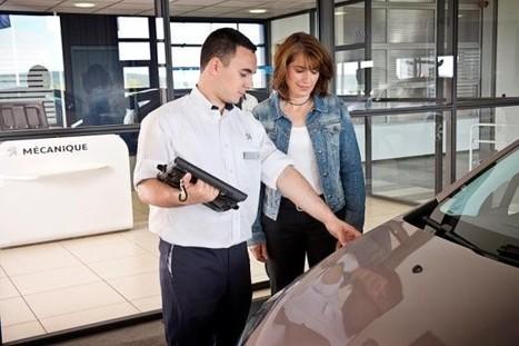 Clienteling : Peugeot équipe son service après-vente de tablettes   Customer Marketing in Retail   Scoop.it
