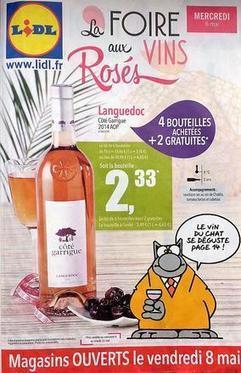 Plus de 40 rosés pour la nouvelle foire aux #vins de #Lidl. | Vos Clés de la Cave | Scoop.it