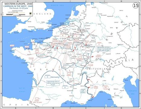 La Invasión de Francia durante la Segunda Guerra Mundial | La Historia con Mapas | MUSEUM | Scoop.it