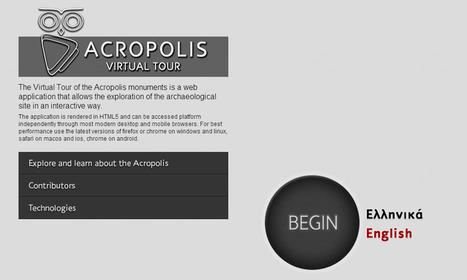 Athènes, Acropolis Virtual Tour : une appli pour une visite virtuelle dans les secrets de l'Acropole   L'actu culturelle   Scoop.it