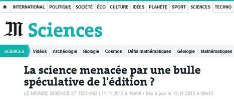 Édition scientifique : accélération et spéculation ? | Enssib | Information Scientifique et Technique - SHS - Recherche | Scoop.it