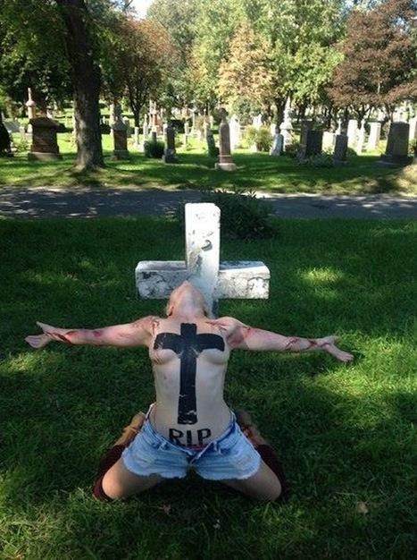 les provocations christianophobes des Femen ont franchi l'Atlantique | Femen | Scoop.it