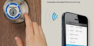 New Kevo lock uses your iPhone for keyless entry | Innovation Showcases | Scoop.it