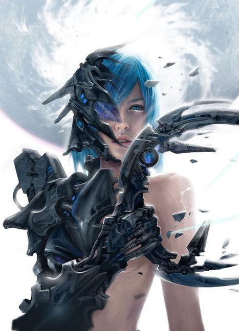 50+ Beautiful and Imaginative Examples of Sci-Fi Digital Art | Inspiration Rôlistique | Scoop.it