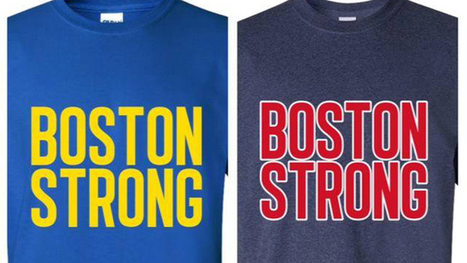 Emerson Students Alter Boston Strong Shirts For Red Sox Win - CBS Local | T-shirts, magliette | Scoop.it