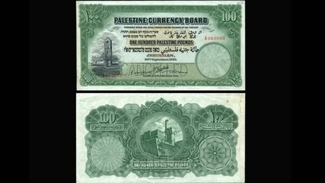 Rare Palestinian banknote bought for almost $100000 in London - Al-Arabiya | Payment Methods | Scoop.it