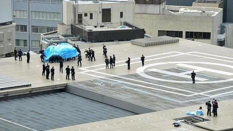 Japan launches probe into landing of drone on roof of PM Abe's office | Technoculture | Scoop.it