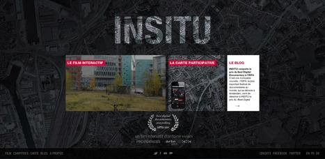 INSITU – Les artistes dans la ville | Cabinet de curiosités numériques | Scoop.it